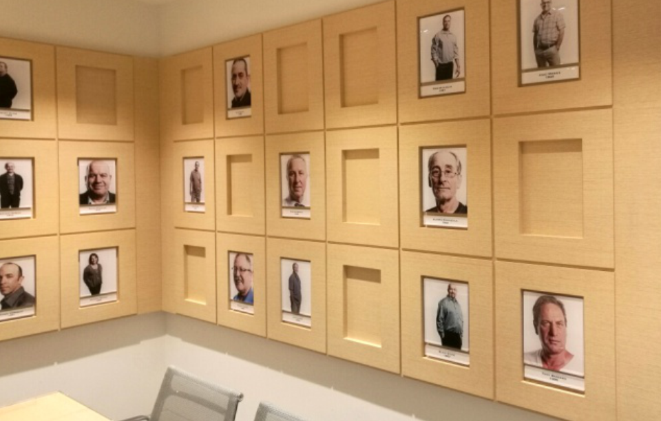 Bespoke Portrait Wall
