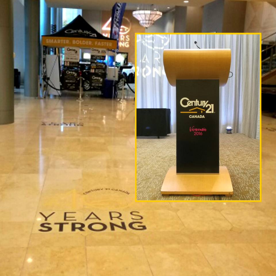 Floor & Podium Graphics
