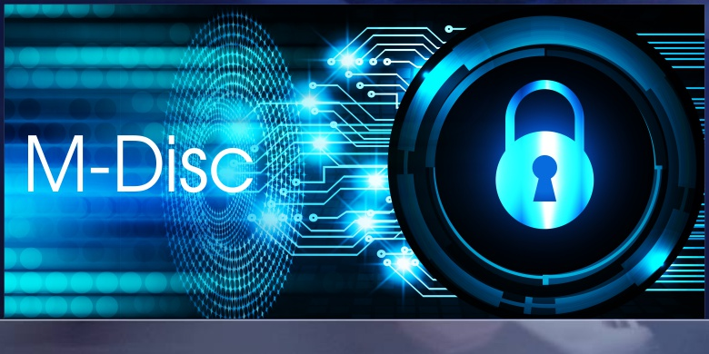 Secure With MDisc