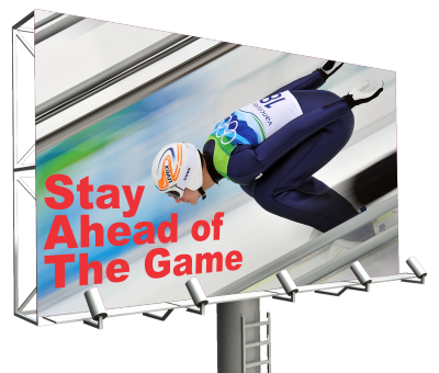 Stay Ahead of The- Game with Billboards
