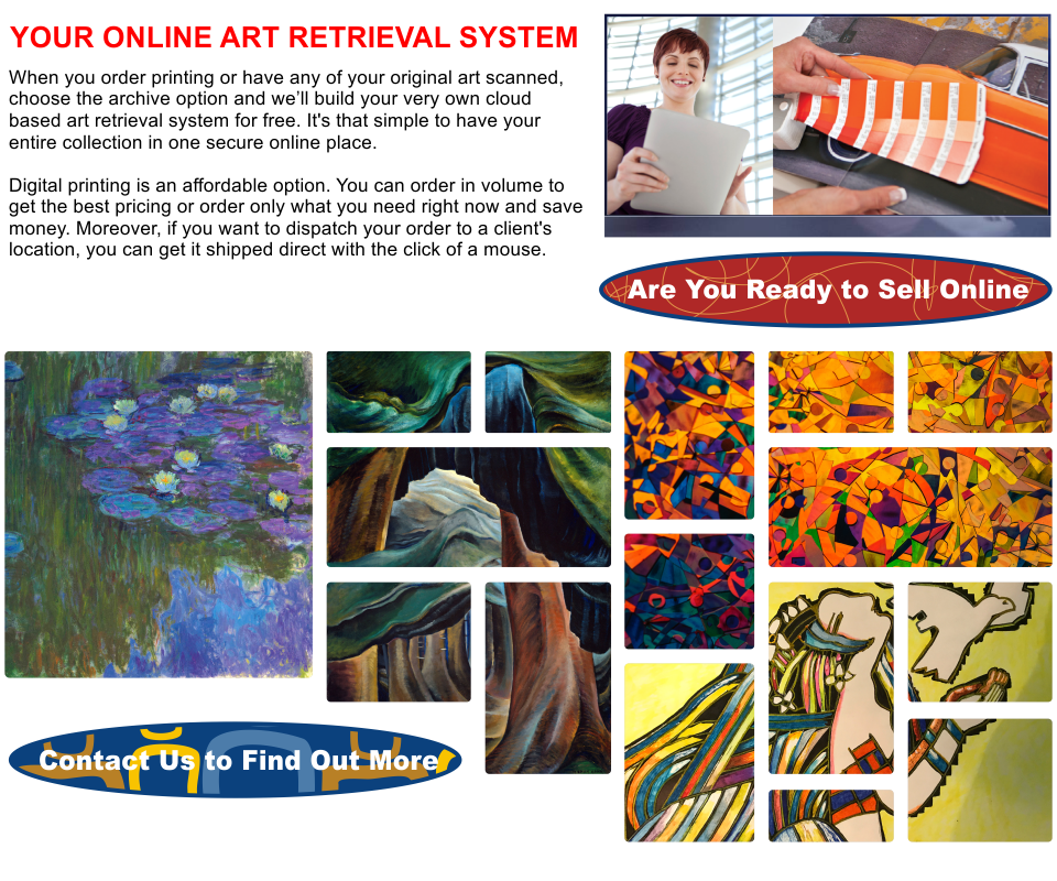 Print Is Art Bottom - Are You Ready to Sell Online
