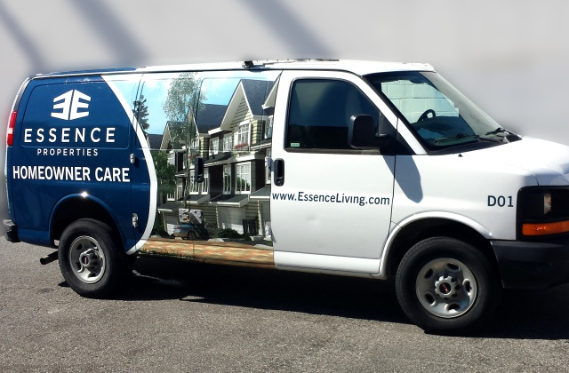 Vehicle Wrap » Superwide Latex Printing on Specialty Media » Custom Installation