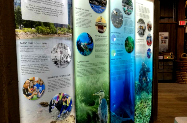 Museum Backlit Display » Superwide Printing on Specialty Media » Custom Installation