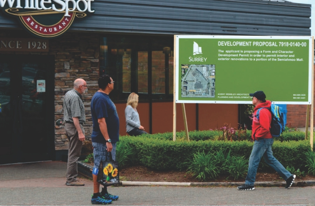 Large Format Development Signage » Flatbed UV Printing » On Site Installation